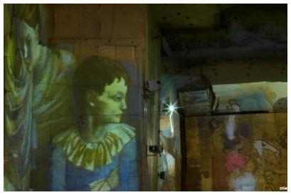 Grafit picassià a la cova