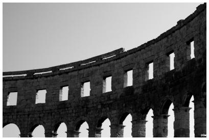 Mur de l'amfiteatre