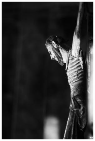 Crist mirant-s´ho