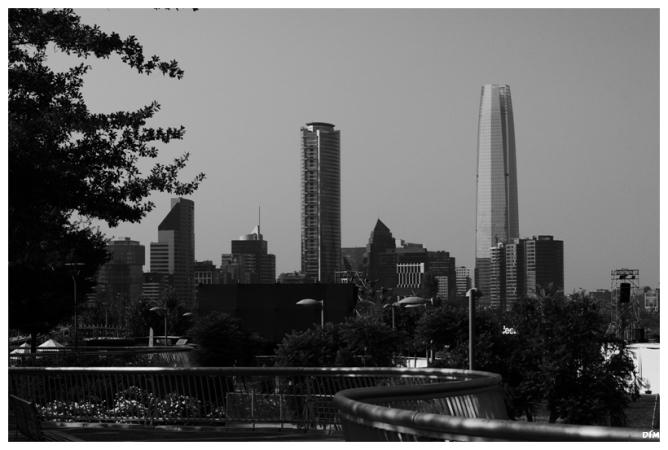Skyline de Santiago