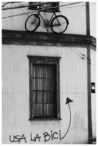 Utilitza la bicicleta
