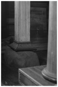 Columna. Esglesia d'Achao