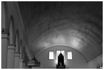 Volta de fusta. Església de Tenaun