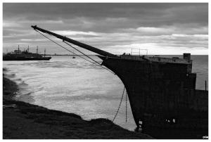 Vaixell a Punta Arenas