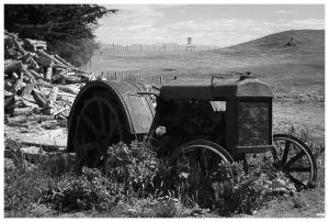 Tractor a Río Verde