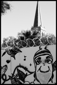 Torre d'esglesia. Calama